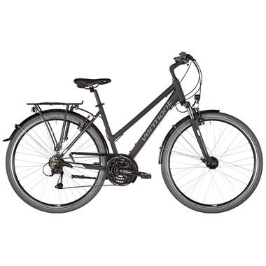 Vélo de Voyage VERMONT BRENTWOOD TRAPEZ Femme Noir 2020